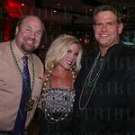 Brett Bachmann, Dr. Susan Johnson and Wyman Marshall.