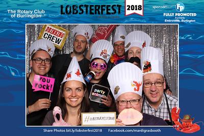 Burlington Rotary Lobsterfest 2018