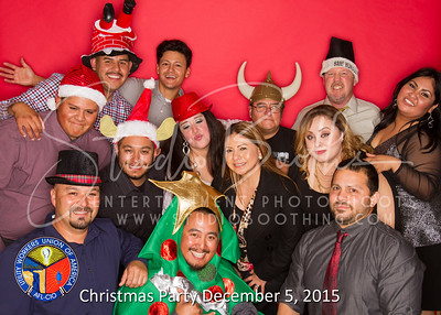Local 160c Christmas Party 2015