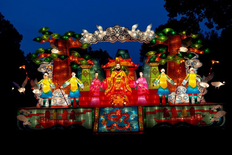 Chinese Lantern Festival, Missouri Botanical Garden