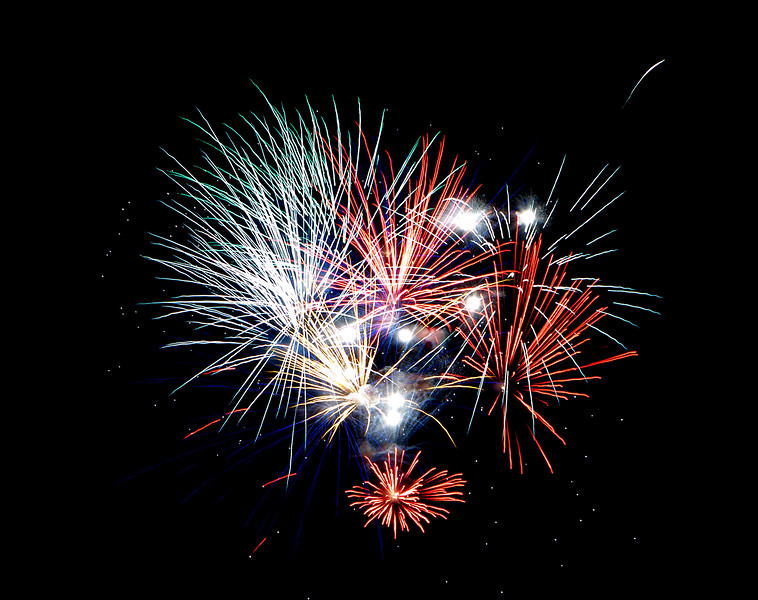 Fourth of July 2011 - Webster Groves, Missouri Fireworks