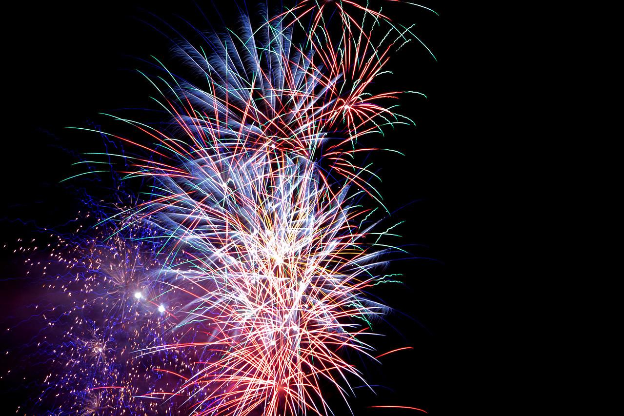 Fourth of July 2011 - Webster Groves, Missouri Fireworks