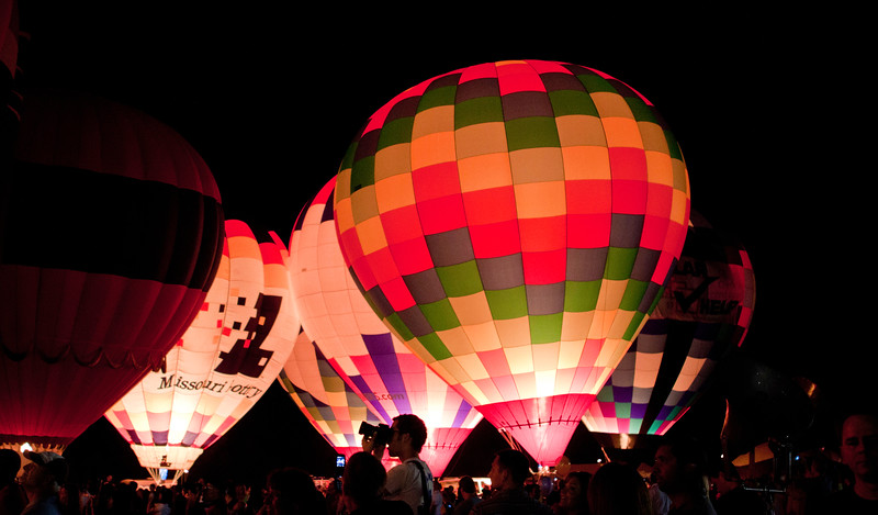 Great Forest Park Balloon Race, Balloon Glow, 9/17/10