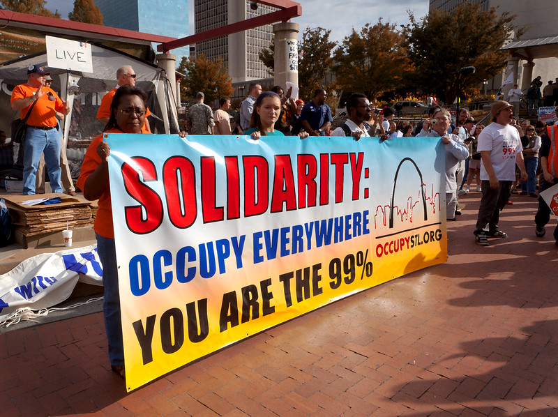 Occupy St. Louis Rally - 10/14/11