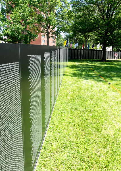 Traveling Vietnam War Memorial, St. Louis, Missouri, and War Memorial St. Louis