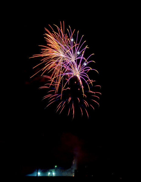 Webster Groves Fireworks, 2013
