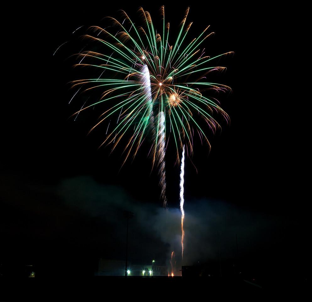 Webster Groves Fireworks, 2013