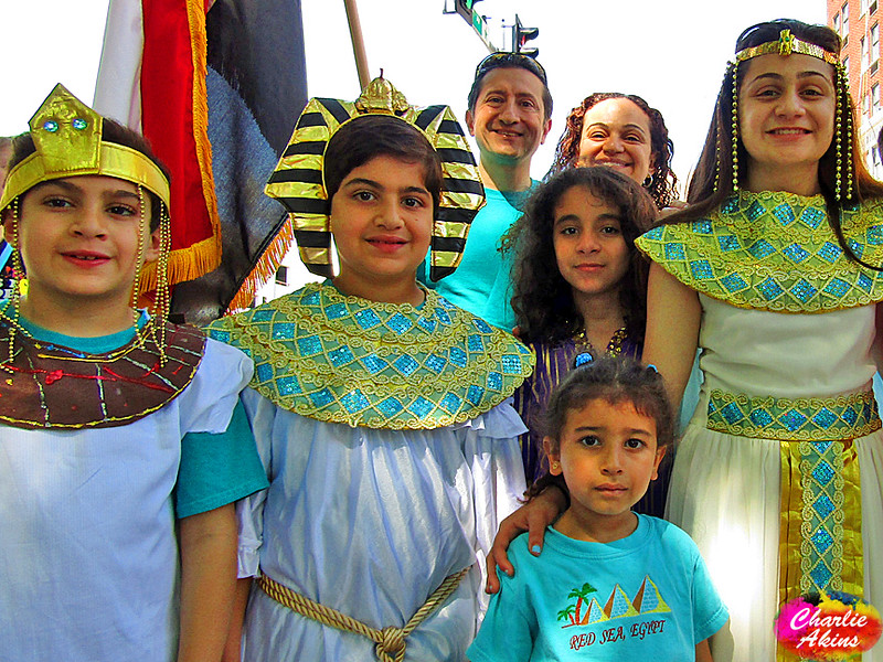 This group represented Egypt.
