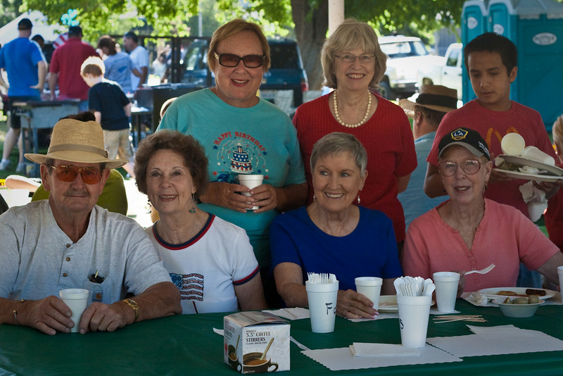 Exeter Friendship Connection group at the 4th Pancake Breakfast
