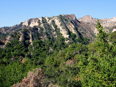 This peak shows Arroyo Hondo's interesting geology and rock deformation