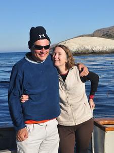 Fellow divers Carl & Beth Gwinn