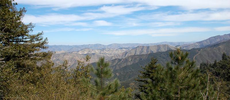Figueroa Mountain, north of Los Olivos