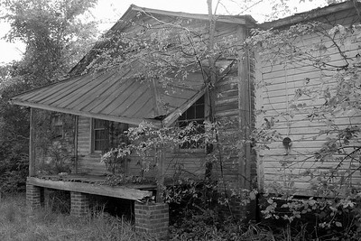 A long abandoned home in New Hill.