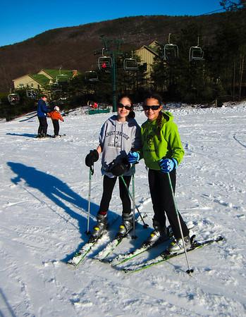 Nicole Skiing 2013