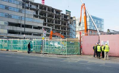 Nov' 15th 2011..  Crown buildings demolition