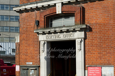 Sept' 2011.  Sorting office entrance