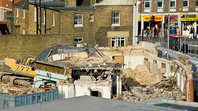 Jan 13th 2012 .  Post office demolition