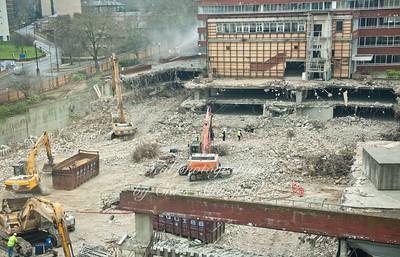 Feb 1st 2011 .Tesco site clearance