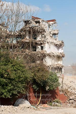 March 21st 2011.  PM house demolition