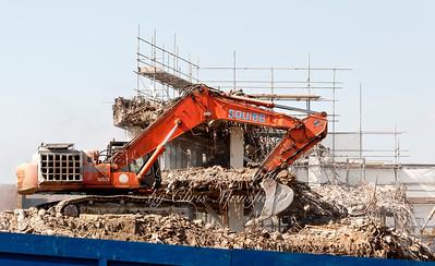 April 11th 2011.. PM House demolition