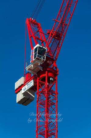 Tower crane, tesco site 29th sept 2011