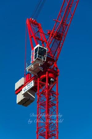 Tower crane, tesco site 29th sept 2011