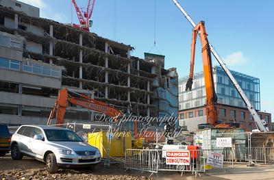 Crown building demolition 15th november 2011