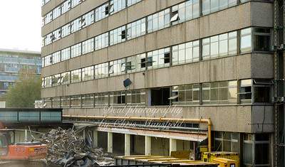 Oct' 29th 2011.  Crown buildings demolition