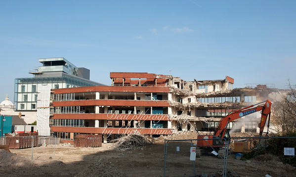 The Woolwich Central Construction Project