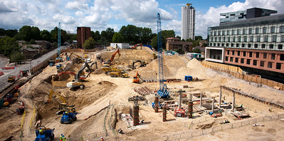 July 6th 2011 The beginnings of Tesco and the 'Woolwich Central' apartments