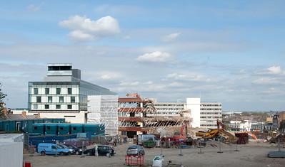 April 7th 2011 .. PM House demolition