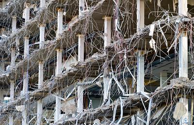 Nov' 18th 2011..  Crown building demolition