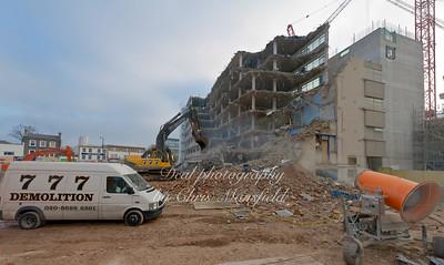 Nov 16th 2011..  Crown buildings demolition
