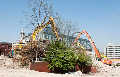 April 11th 2011.   PM house demolition