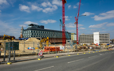 July 30th 2011.  Woolwich central / Tesco site