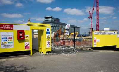 July 30th 2011..   Site entrance .. woolwich central