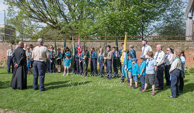 April 22nd 2018 St Georges day service 16