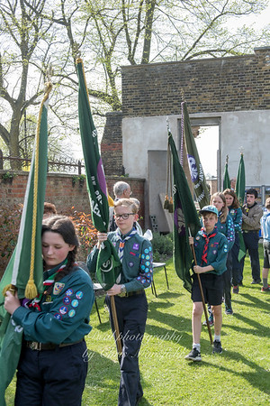 April 22nd 2018 St Georges day service 23