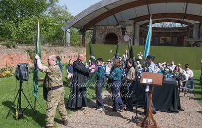 April 22nd 2018 St Georges day service 19