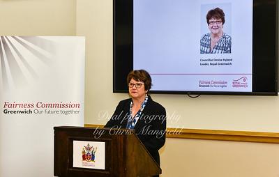 Council leader Denise Hyland