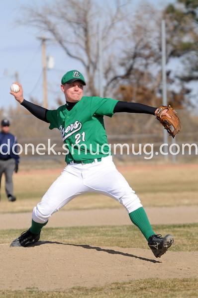 Corey Hodge on the mound
