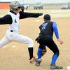 #4 makes it safely to 1st base