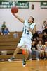 James Maes takes advantage of a defenseless basket.
