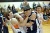 Tyler Laducer and Raul Hernandez fight for the ball