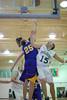 James Maes scores, Scott Richardsone misses the block