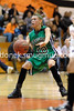Ashley Eikleberry passes the ball.