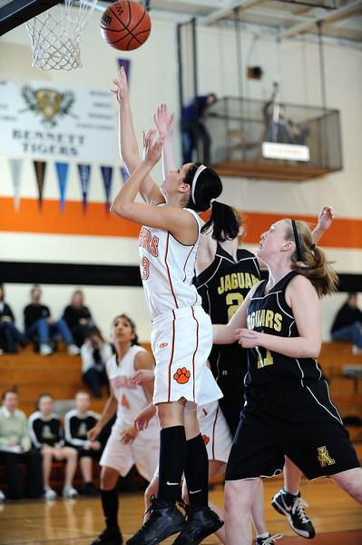Basketball Jefferson Academy @ Bennett 2-2-10