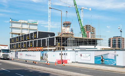 Aug 24th 2016.  Beresford st hotel construction