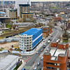 March 24th 2015. Elevated view along Beresford street