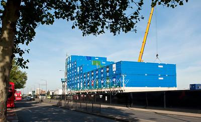 Oct' 30th 2012 .. Royal Arsenal Hotel